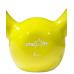 Гиря виниловая DB-401, желтая, 4 кг