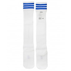 Гетры футбольные 4144, белые/синие