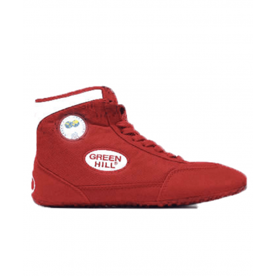 Обувь для борьбы GWB-3052/GWB-3055, красная/белая