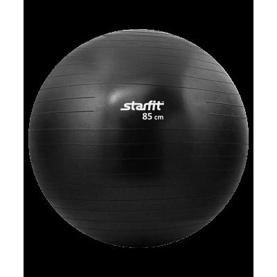 Мяч гимнастический GB-101 85 см, антивзрыв, черный