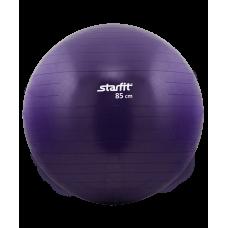 Мяч гимнастический GB-101 85 см, антивзрыв, фиолетовый