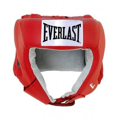 Шлем открытый USA Boxing 610200U, M, кожа, красный