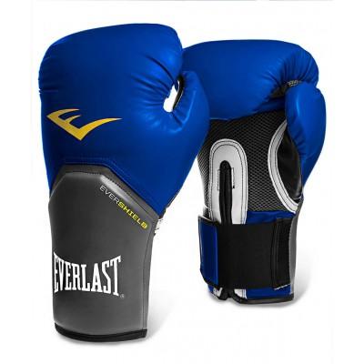 Перчатки боксерские Pro Style Elite 2214E, 14oz, к/з, синие