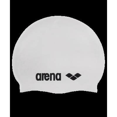 Шапочка для плавания Classic Silicone Cap white/black, силикон, 91662 15