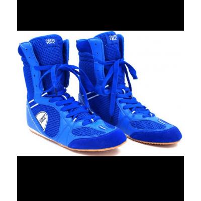 Обувь для бокса PS005, синяя