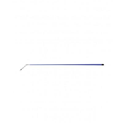 Палочка для ленты для художественной гимнастики АВ215, 56 см, с карабином, синяя