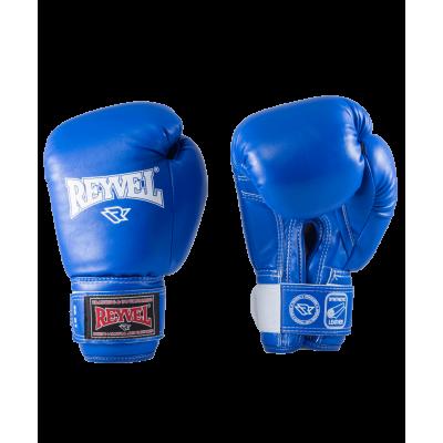 Перчатки боксерские RV-101, 14oz, к/з, синие