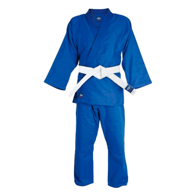 Кимоно дзюдо MA-302 синее, р.4/170