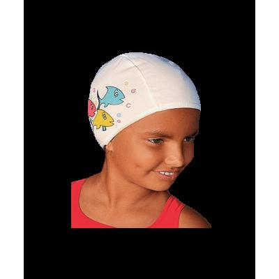 Шапочка для плавания Polyester kids Printed Cap (с рисунком) 3220