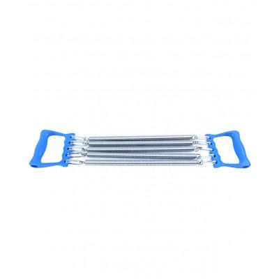 Эспандер плечевой ES-101, 5 струн, металлический, синий