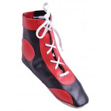 Обувь для самбо П кожа, красная