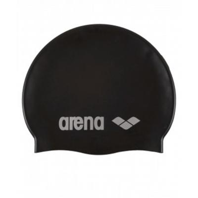 Шапочка для плавания Classic Silicone Cap black, силикон, 91662 55