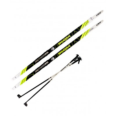 Комплект лыжный NNN, 170 см, step