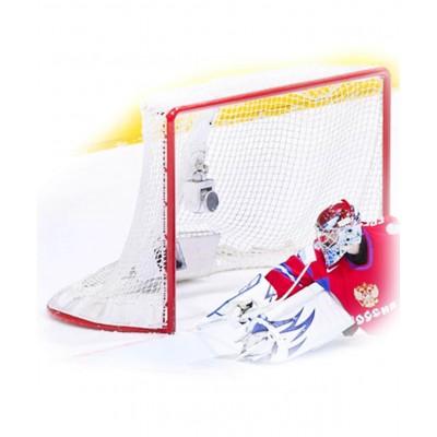 Сетка для хоккея без гасителя 3022, нить 2,2 мм, пара