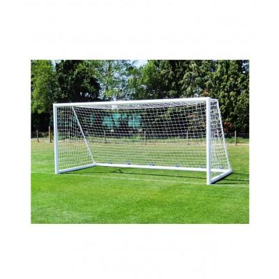Сетка футбольная 1140, юношеская, нить 4 мм, 5х2 м, 2шт.