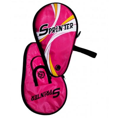Чехол для ракетки для настольного тенниса BB09С-2, малиновый