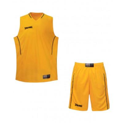 Форма баскетбольная, желто-черная
