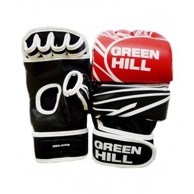 Перчатки для MMA-0055R, к/з, красные/черные/белые