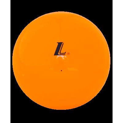 Мяч для художественной гимнастики SH5012, 18 см, оранжевый глянцевый