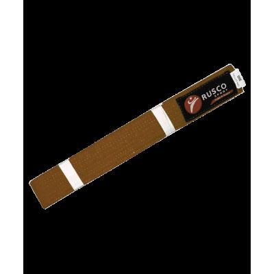 Пояс для единоборств, 280 см, коричневый