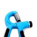 Эспандер кистевой пружинный ES-302, с регулировкой нагрузки, синий/черный