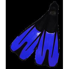 Ласты пластиковые, р. от 37 до 46, синие
