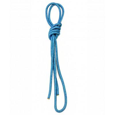 Скакалка для художественной гимнастики 3 м, с люрексом, бирюзовая