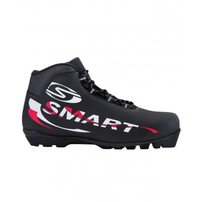 Ботинки лыжные NNN Smart 357, синт. кожа, черные