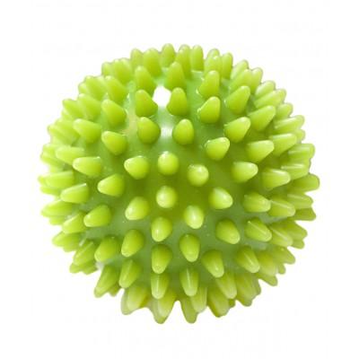 Мяч массажный GB-601 7 см, зеленый