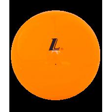 Мяч для художественной гимнастики  D15, 15 см, оранжевый глянцевый