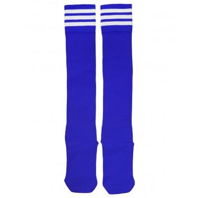 Гетры футбольные 3740, синие/белые