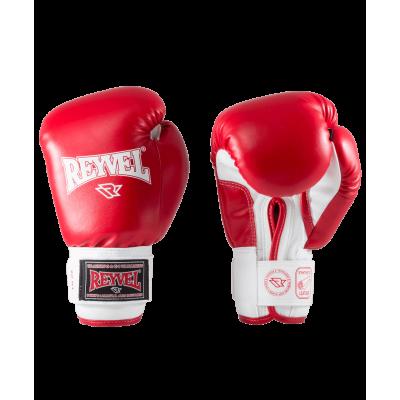 Перчатки боксерские RV-101, 10oz, к/з, красные