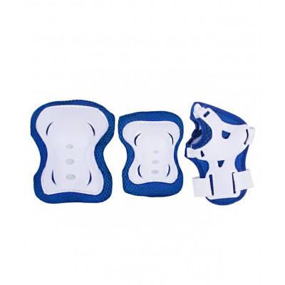 Комплект защиты Rocket, синий/белый