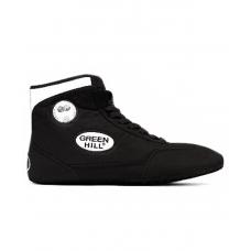 Обувь для борьбы GWB-3052/GWB-3055, черная/белая