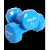 Гантель виниловая DB-101 3 кг, синяя