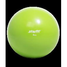 Медбол GB-703, 4 кг, зеленый