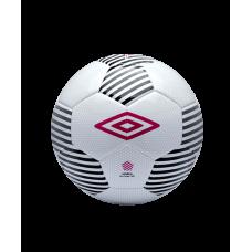 Мяч футбольный Neo Target TSBE №5, бел/чер/розовый