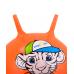 """Мяч-попрыгун """"Тигренок"""" GB-402,55 см, с рожками, оранжевый"""