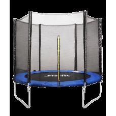 Батут c сеткой TR-201, 305 см, синий
