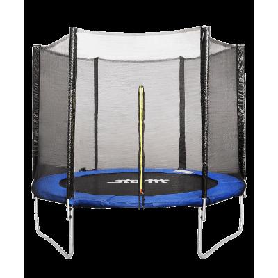 Батут c сеткой TR-201, 244 см, синий