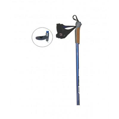 Палки лыжные гоночные Cyber углеволокно пробковая ручка, 155 см