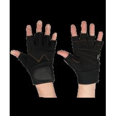 Перчатки атлетические SU-122, черные