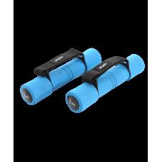 Гантель неопреновая DB-203 2 кг, синяя