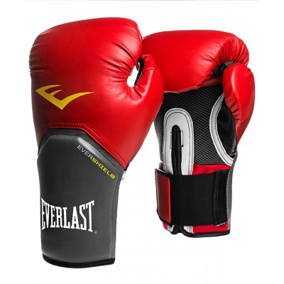 Перчатки боксерские Pro Style Elite 2108E, 8oz, к/з, красные