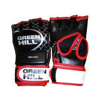 Перчатки для MMA-0056, к/з, черные