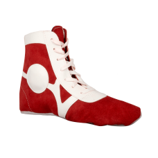 Обувь для самбо BS-101, замша, красная
