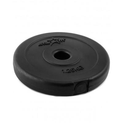 Диск пластиковый BB-203, d=26 мм, черный, 1,25 кг