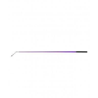 Палочка для ленты для художественной гимнастики АВ215, 56 см, с карабином, фиолетовая