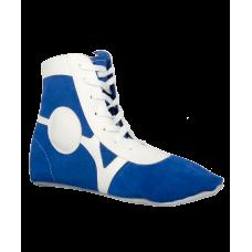 Обувь для самбо BS-101, замша, синяя