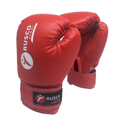 Перчатки боксерские, 8oz, к/з, красные